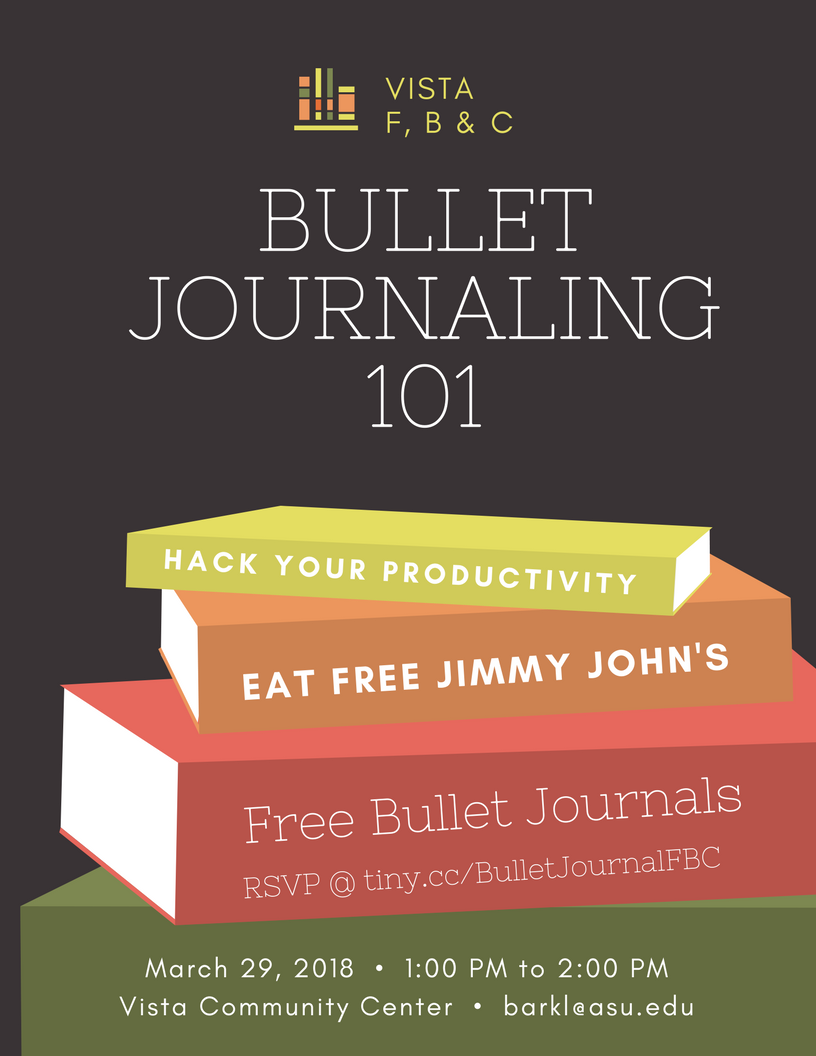 Bullet Journaling 101 | Barrett, The Honors College