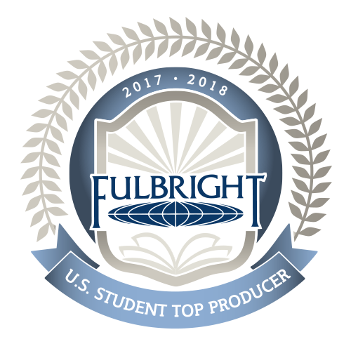Fulbright badge 2017-18