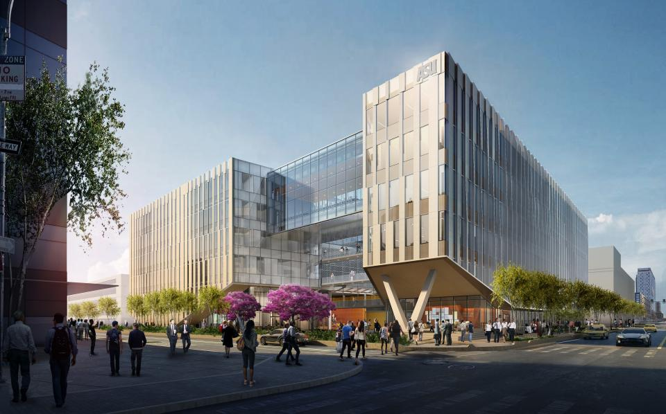 New law building in downtown Phoenix