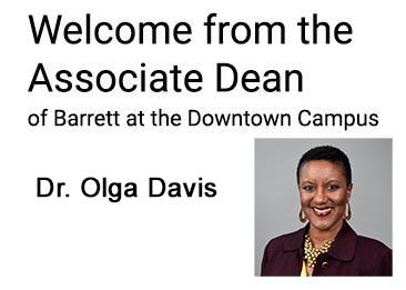 Dr. Davis Dean's Welcome