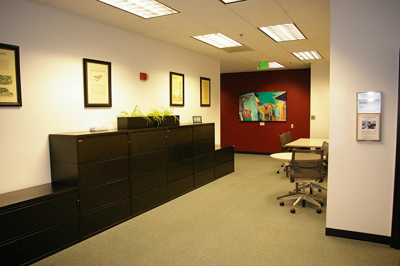 Study space in the Barrett Suite