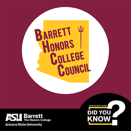 Barrett Honors College Council logo