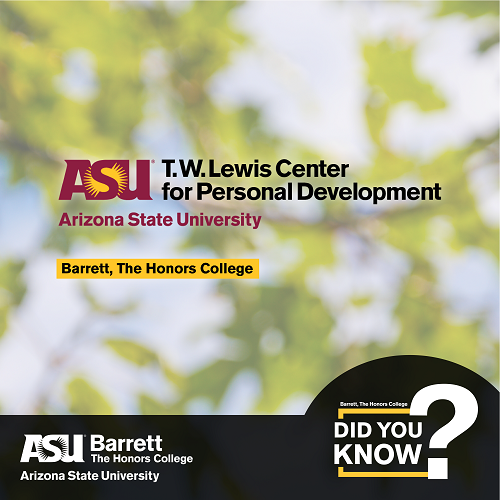 Did You Know - T. W. Lewis Center