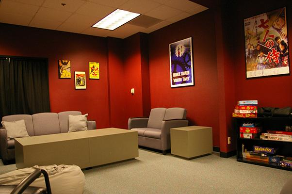 Kurosawa film and game room