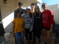 Gammage Scholars at childrens shelter 1