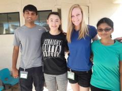 Gammage Scholars at childrens shelter 2