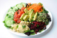 Vegan Salad Plate