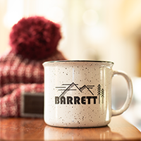 Barrett Bucks White Mug